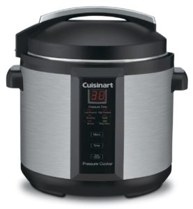 Cuisinart CPC-600 6 Quart 1000 Watt Electric Pressure Cooker (Stainless Steel) - top 5 pressure cooker reviews