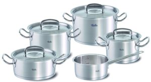 best professional cookware sets - Fissler Original Profi Collection Set - 9 Pieces
