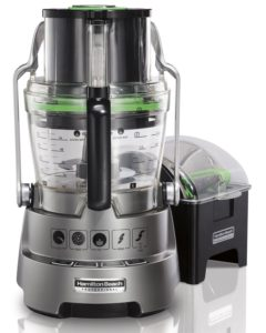 Hamilton Beach Professional Dicing Food Processor with 14-Cup BPA-Free Bowl (70825) - the best food processor