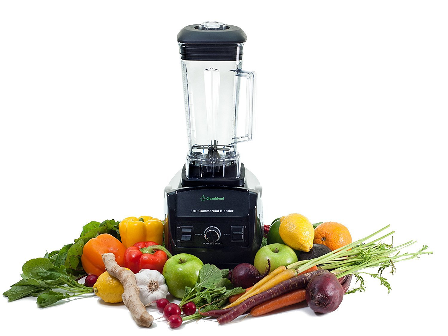 commercial blender features & reviews - Cleanblend 3HP 1800-Watt Commercial Blender