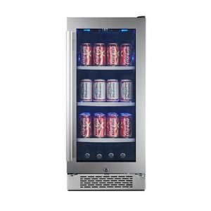 "Avallon ABR151SGRH 86 Can 15"" Built-In Beverage Cooler"