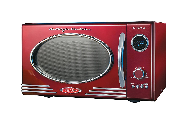 Nostalgia Rmo400red Retro Microwave Oven
