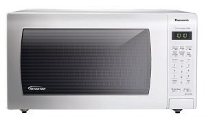 Panasonic NN-SN736W White 1.6 Cu. Ft. Countertop Microwave Oven with Inverter Technology