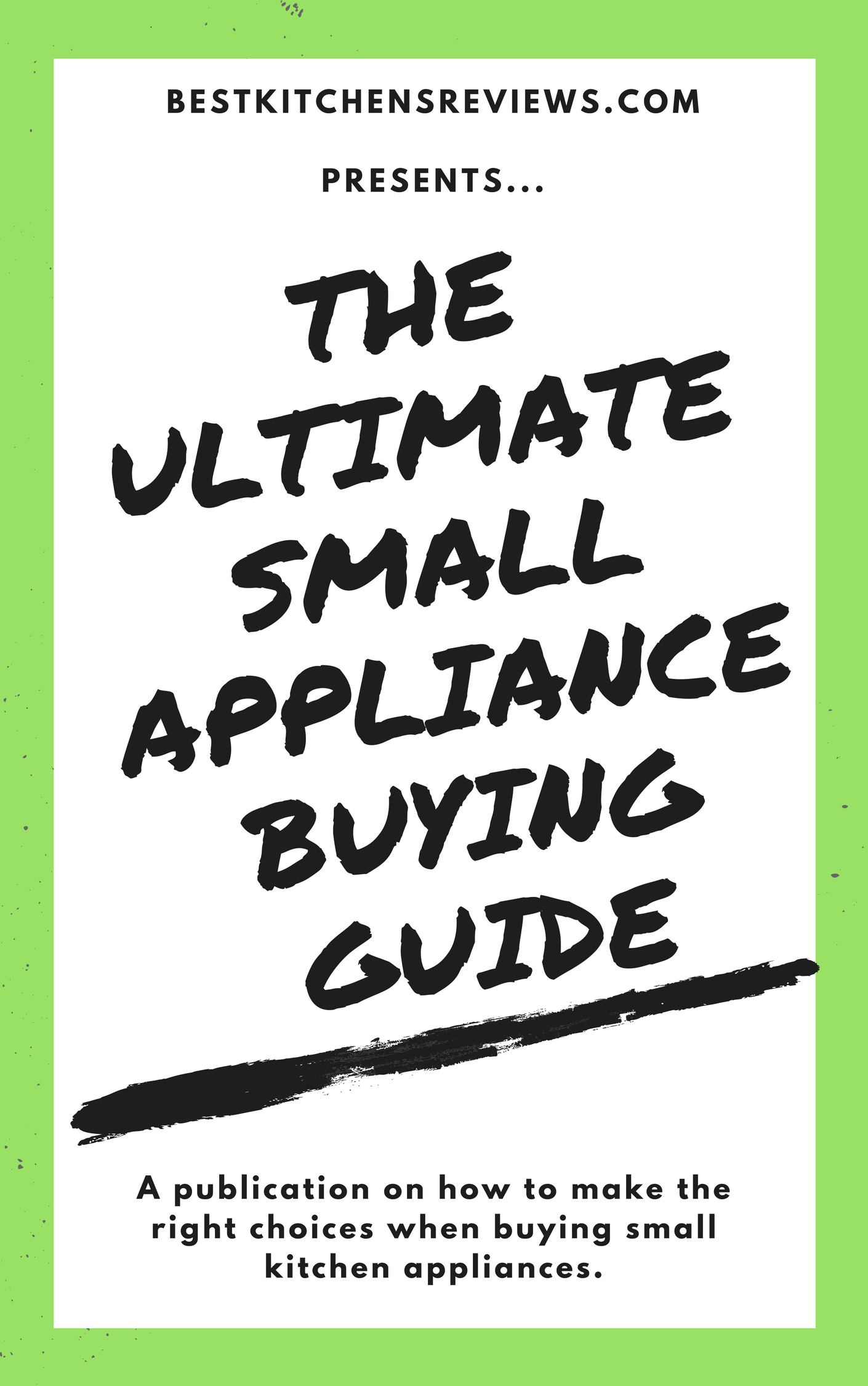 Small Appliance Buying Guide