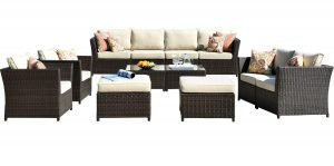 Ovios 12 piece Patio Furniture Set