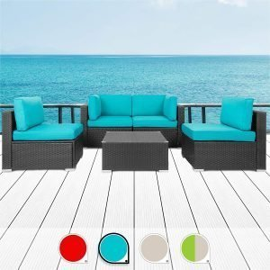 Walsunny 5 pieces patio Outdoor furniture