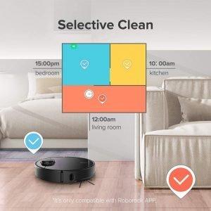 Roborock S4 Robot Vacuum Selective Clean - robot vacuum buying guide